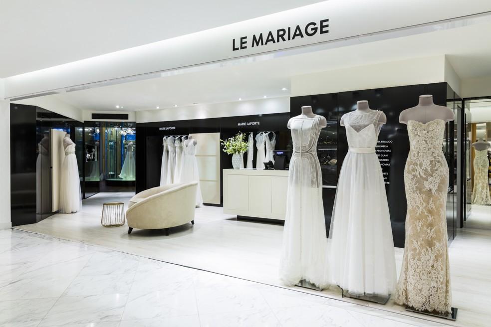 Un Espace 100 Dedie Au Mariage Au Printemps Haussmann La Sœur De La Mariee Blog Mariage
