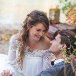 Couple de mariées boho chic