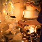 Bar à chocolat pour un mariage