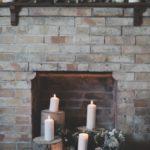 Décorer l'intérieure d'une cheminée