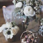 Fleurs pour un mariage en hiver