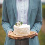 Wedding cake minimaliste