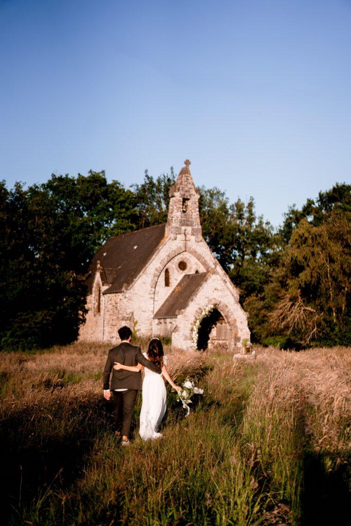mariage chapelle abandonnée